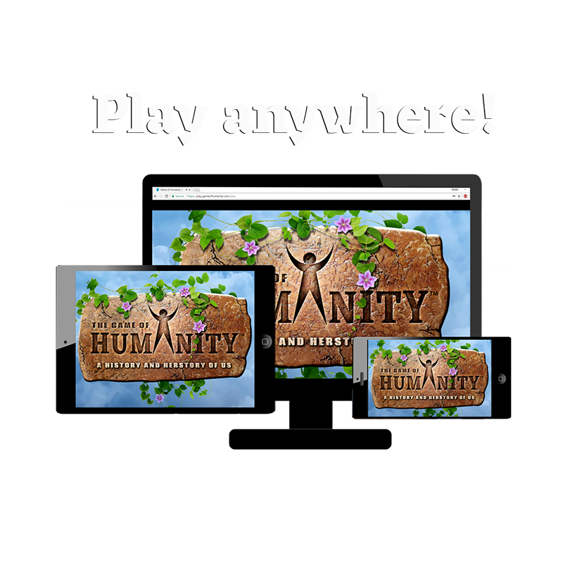 Learn about human history. Play now!